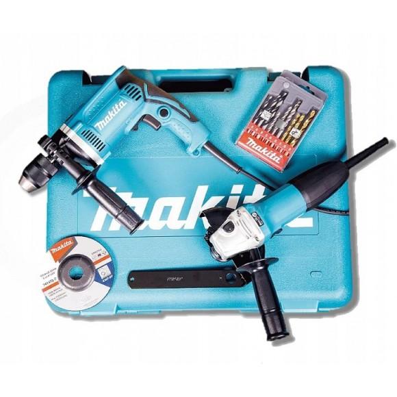 Makita DK0050X1 szlifierka GA5030 wiertarka HP1631