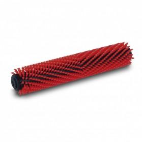 Szczotka walcowa, średnia, czerwony, 300 mm