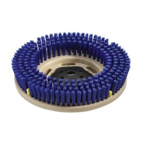 Szczotka tarczowa, średnia, niebieski, 508 mm
